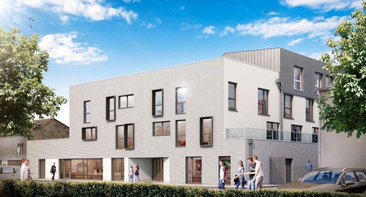 Résidence « Le Hub » programme immobilier neuf à Le Petit-Quevilly
