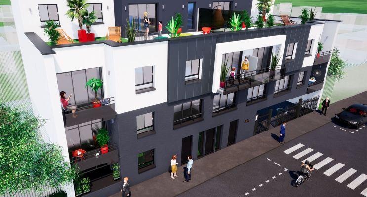 Le Petit-Quevilly : programme immobilier neuf « Le Manhattan » en Loi Pinel