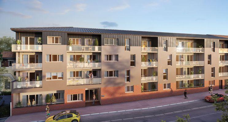 Photo du Résidence « Le Patio » programme immobilier neuf en Loi Pinel à Le Petit-Quevilly