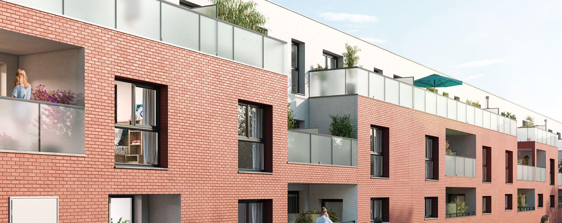 Le Petit-Quevilly : programme immobilier neuve « Nouvel Angle » en Loi Pinel