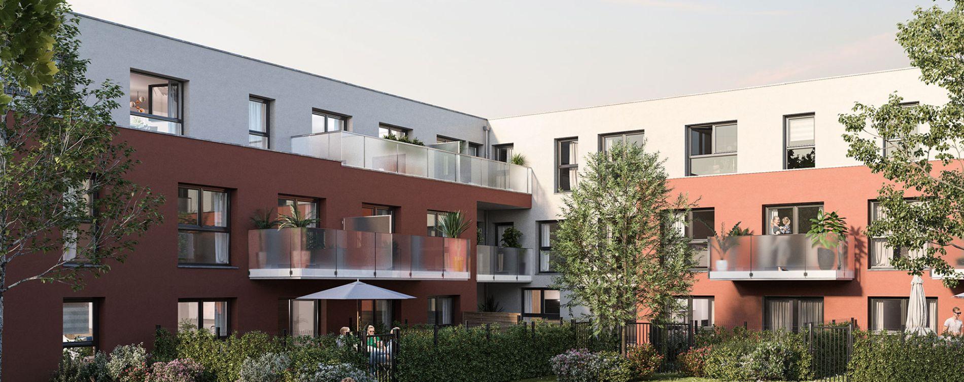 Le Petit-Quevilly : programme immobilier neuve « Nouvel Angle » en Loi Pinel (2)