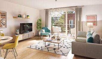 Le Petit-Quevilly programme immobilier neuve « Villa Amarante » en Loi Pinel  (2)
