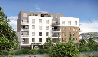 Maromme : programme immobilier neuf « Au fil de l'O » en Loi Pinel