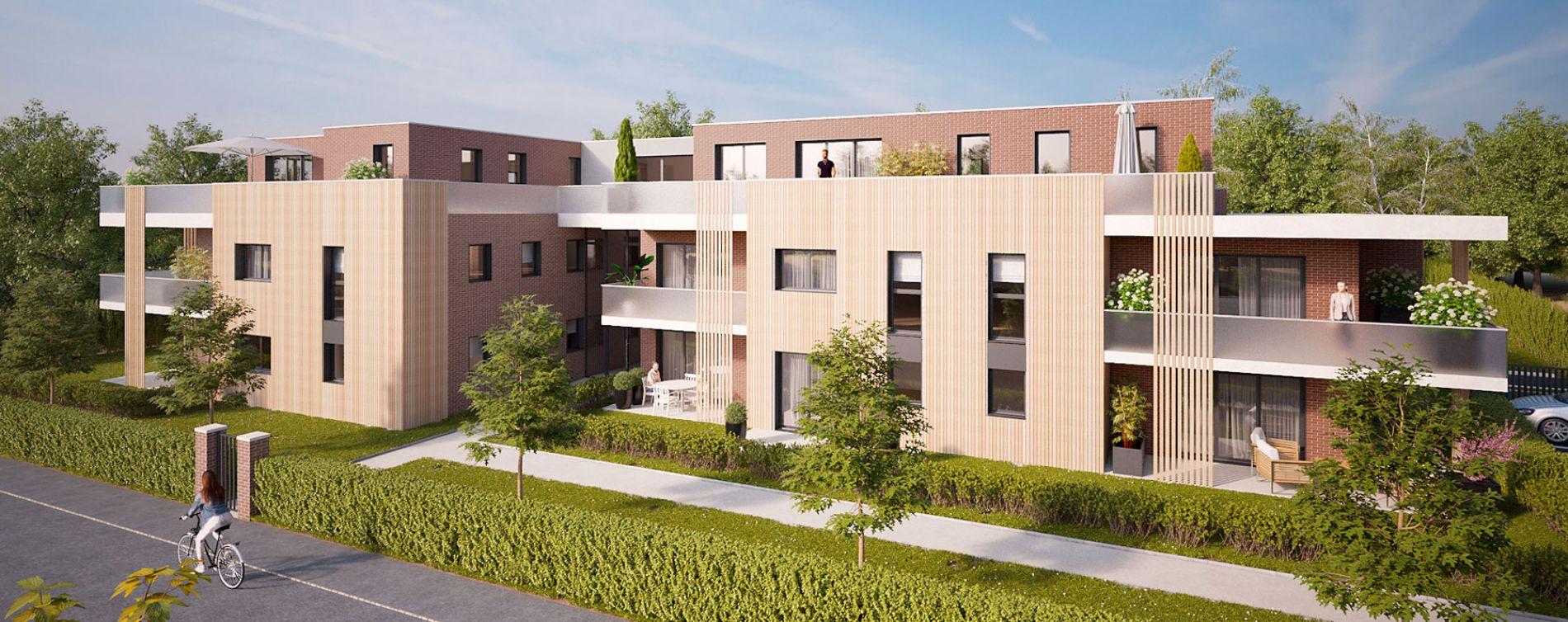 Mont-Saint-Aignan : programme immobilier neuve « Les Terrasses du Golf » en Loi Pinel