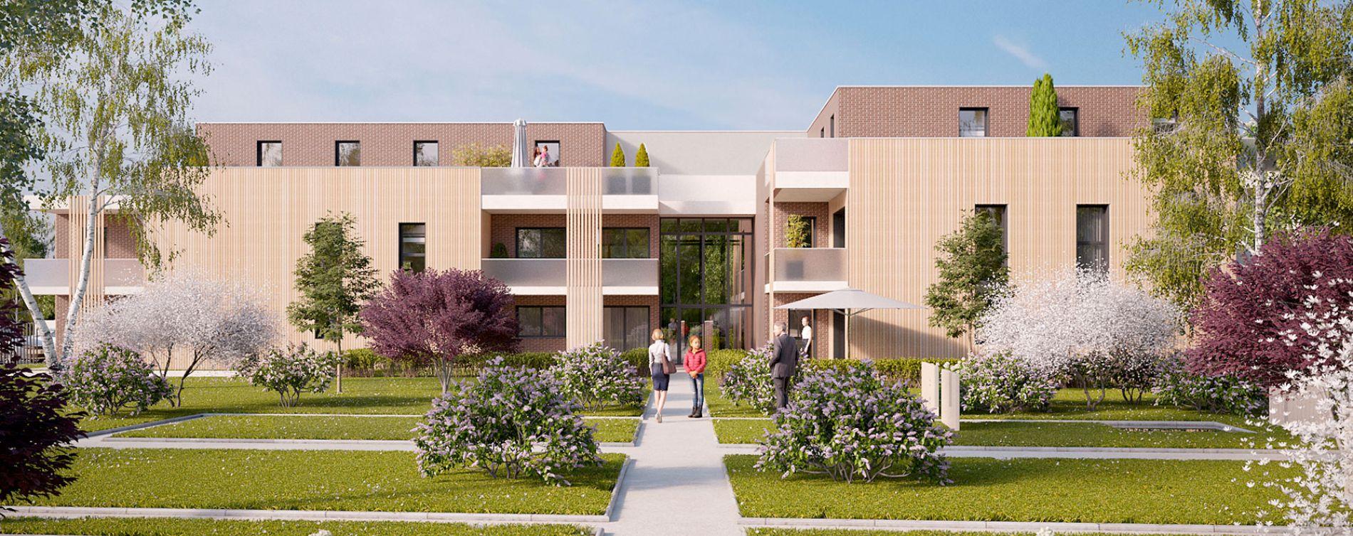 Mont-Saint-Aignan : programme immobilier neuve « Les Terrasses du Golf » en Loi Pinel (2)
