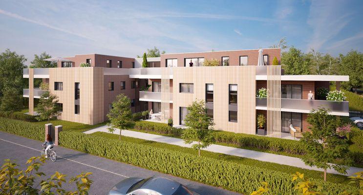 Photo du Résidence « Les Terrasses du Golf » programme immobilier neuf en Loi Pinel à Mont-Saint-Aignan