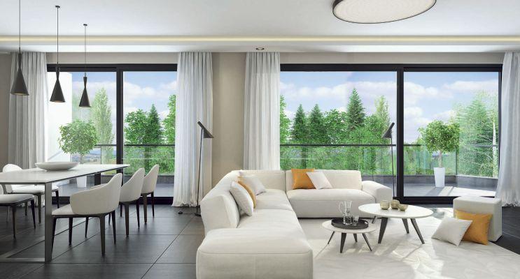 Photo n°3 du Résidence « Les Terrasses Du Golf » programme immobilier neuf en Loi Pinel à Mont-Saint-Aignan