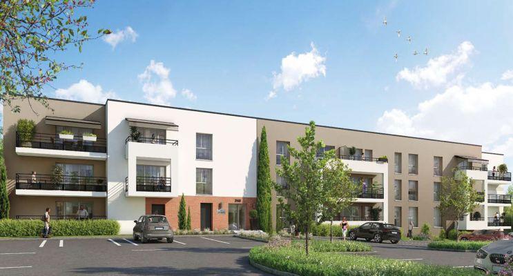 Notre-Dame-de-Bondeville : programme immobilier neuf « Le Quartz » en Loi Pinel