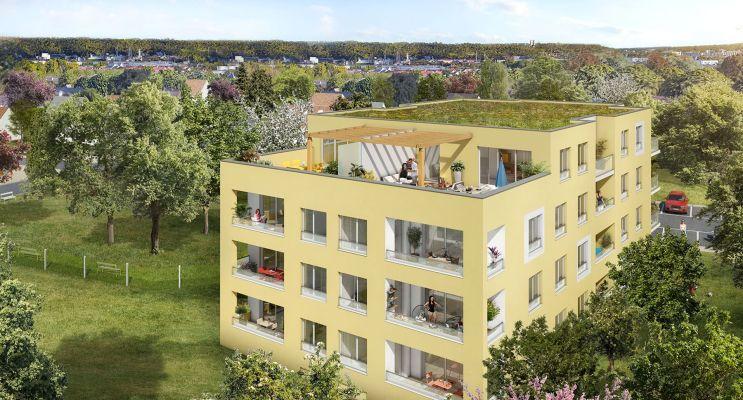 Photo du Résidence « Aquarelle » programme immobilier neuf en Loi Pinel à Petit-Couronne