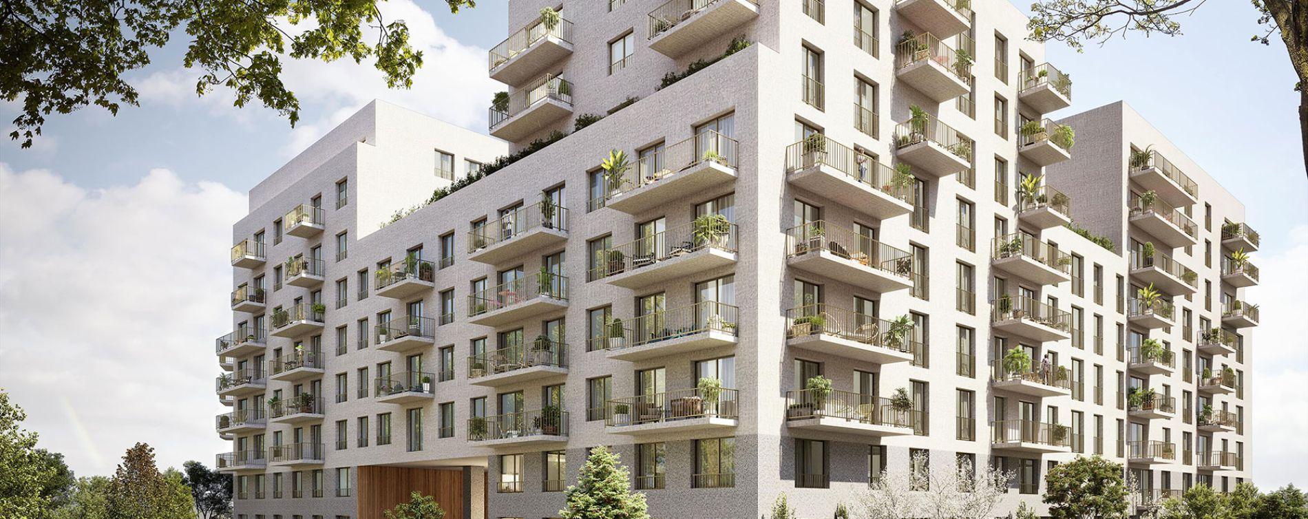 Rouen : programme immobilier neuve « Arborescence » en Loi Pinel