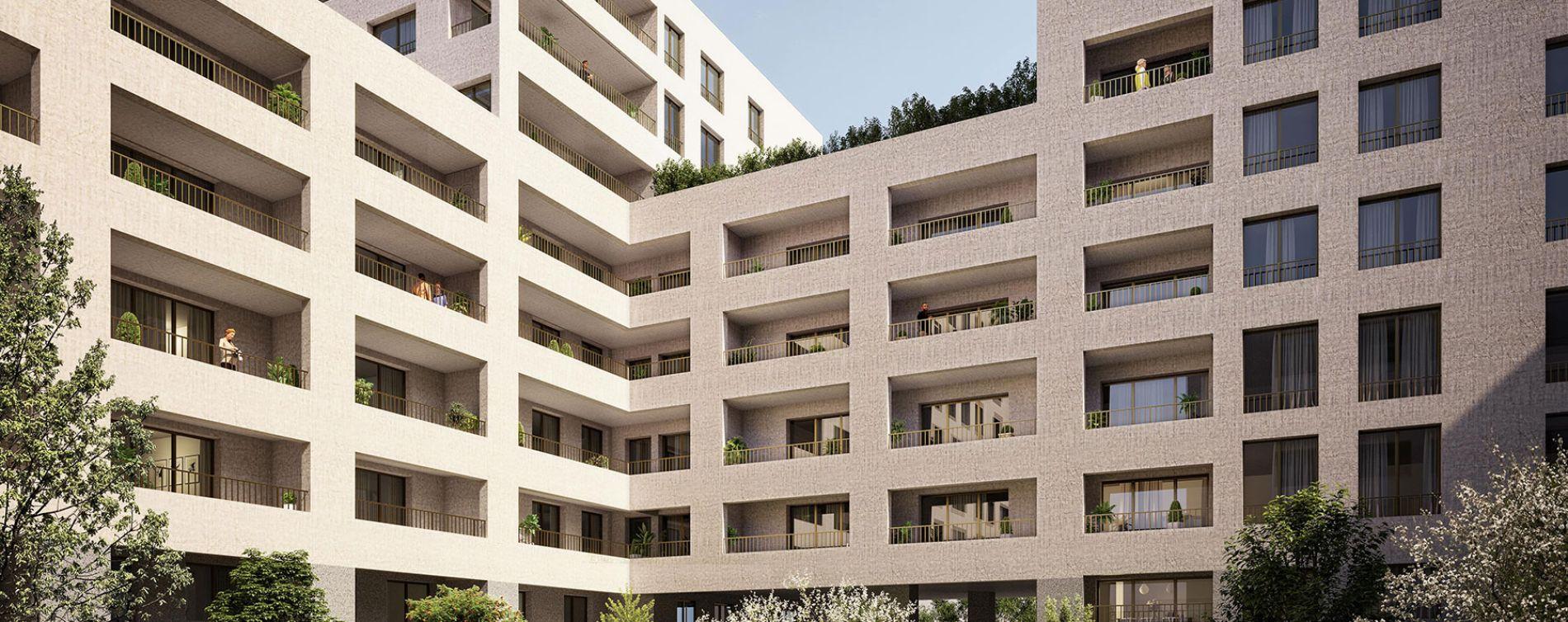 Rouen : programme immobilier neuve « Arborescence » en Loi Pinel (2)
