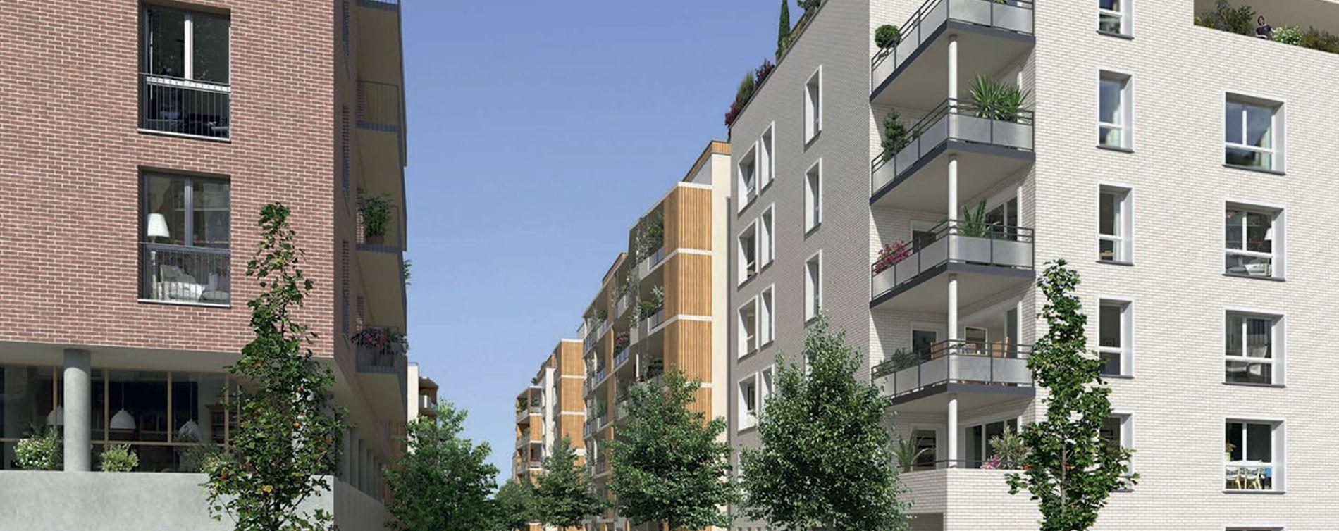 Rouen : programme immobilier neuve « Carré Flora » en Loi Pinel (3)