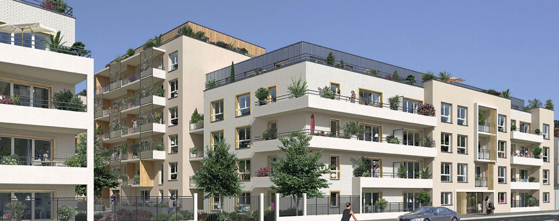 Rouen : programme immobilier neuve « Carré Flora » en Loi Pinel (4)