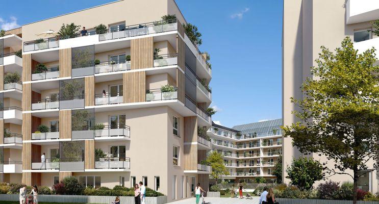 Rouen : programme immobilier neuf « Carré Flora » en Loi Pinel