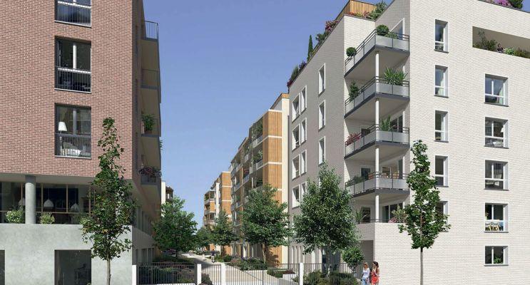 Résidence « Carré Flora » programme immobilier neuf en Loi Pinel à Rouen n°3