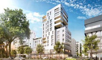 Rouen : programme immobilier neuf « CitySeine » en Loi Pinel