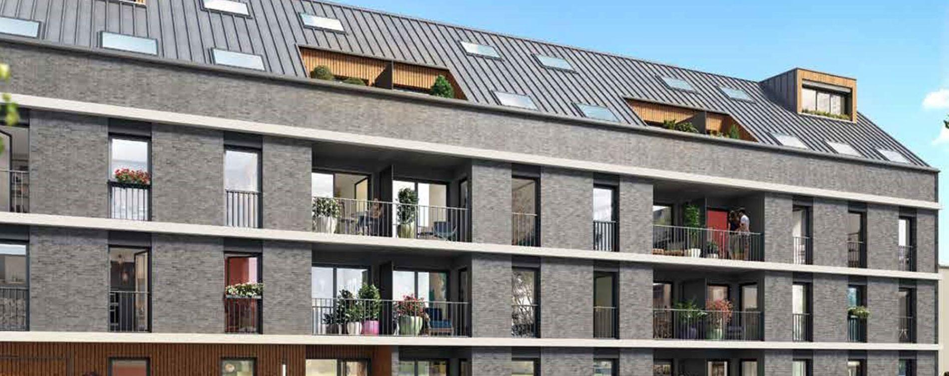 Rouen : programme immobilier neuve « L'Attik » en Loi Pinel