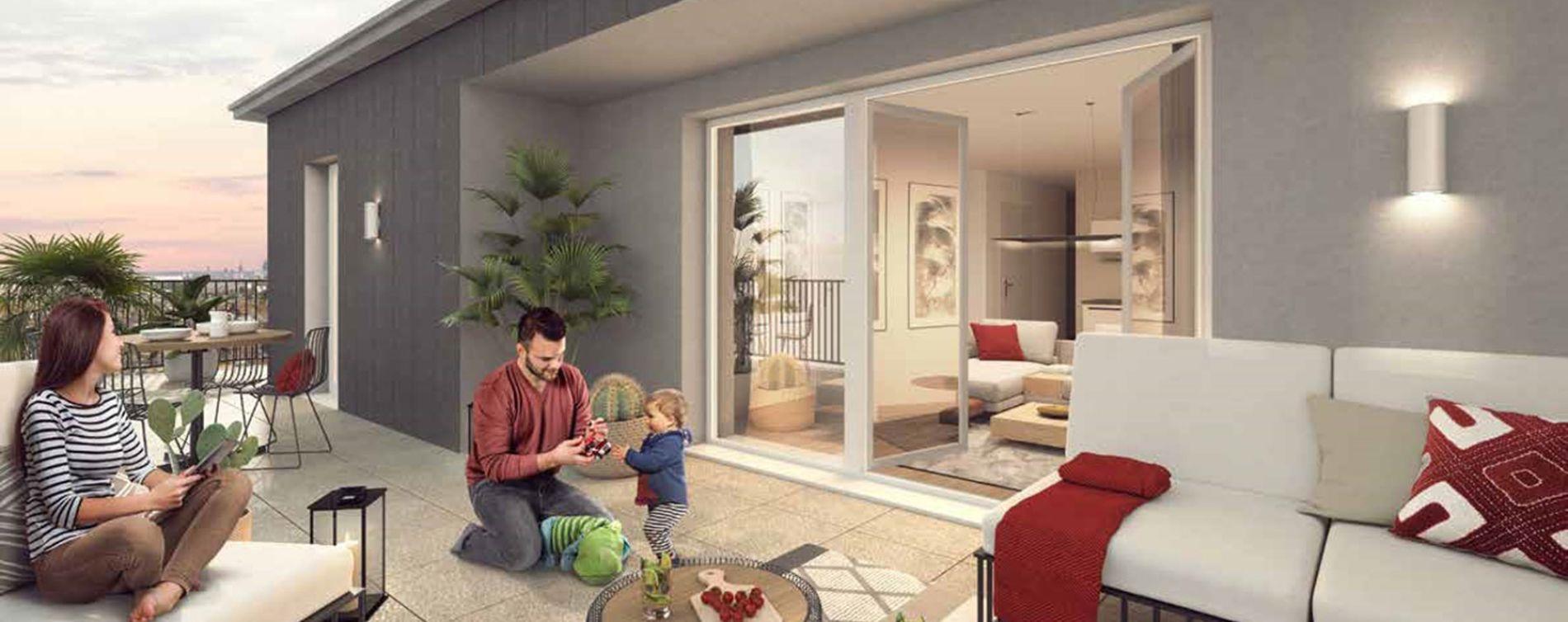 Rouen : programme immobilier neuve « L'Attik » en Loi Pinel (2)