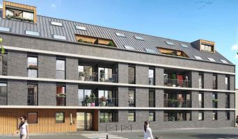 Rouen : programme immobilier neuf « L'Attik » en Loi Pinel