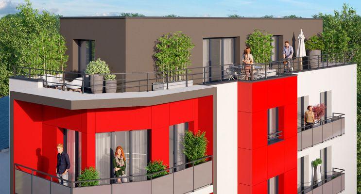 Photo du Résidence « Le Parc Exupery » programme immobilier neuf en Loi Pinel à Rouen