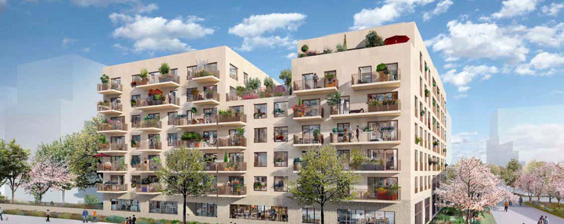 Rouen : programme immobilier neuve « Les Girandières Cœur Normandie »