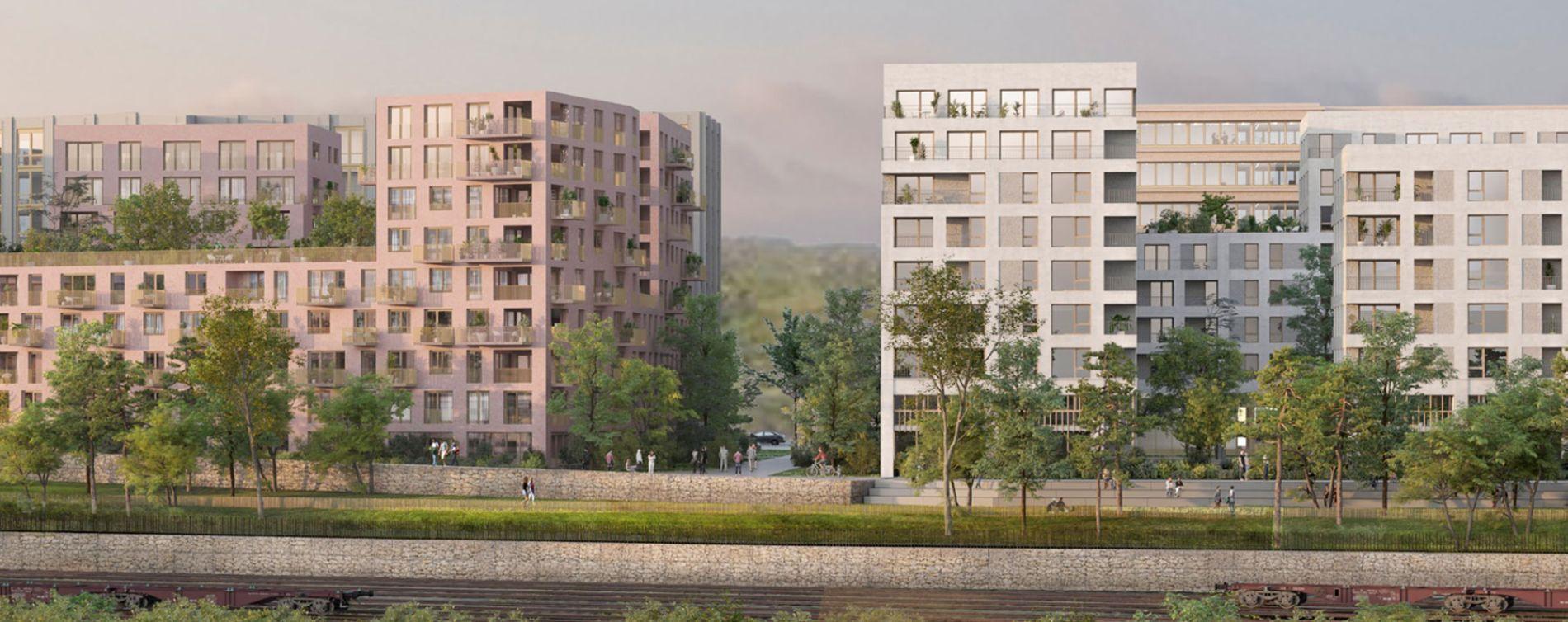 Rouen : programme immobilier neuve « L'Éveil de Flaubert » en Loi Pinel