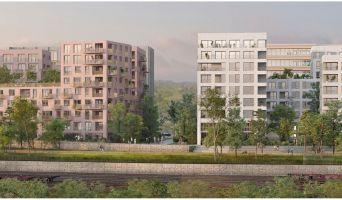 Rouen : programme immobilier neuf « L'Éveil de Flaubert » en Loi Pinel