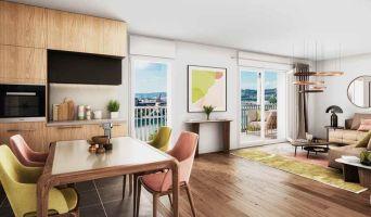 Rouen programme immobilier neuve « Lisière en Seine » en Loi Pinel  (2)