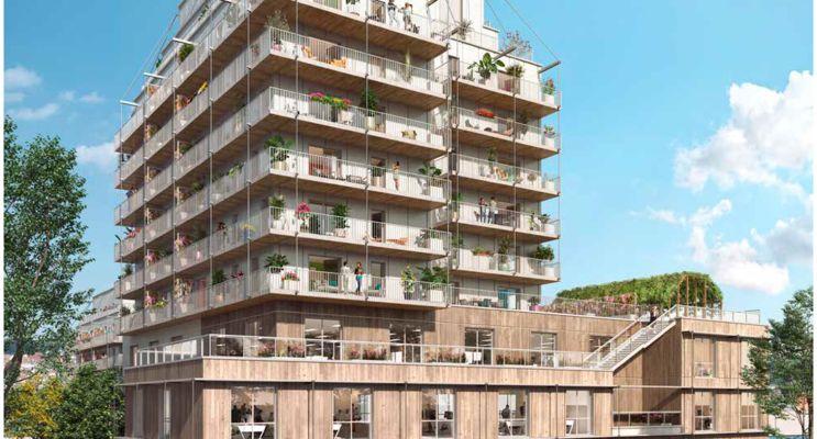 Rouen : programme immobilier neuf « Lisière en Seine » en Loi Pinel