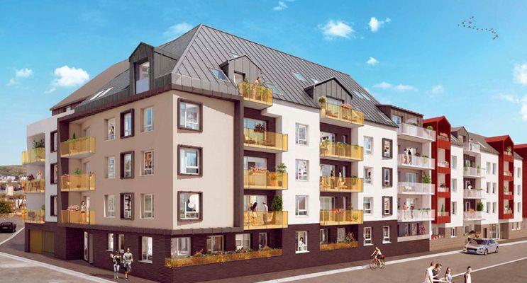 Photo du Résidence « LUMI'R » programme immobilier neuf en Loi Pinel à Rouen