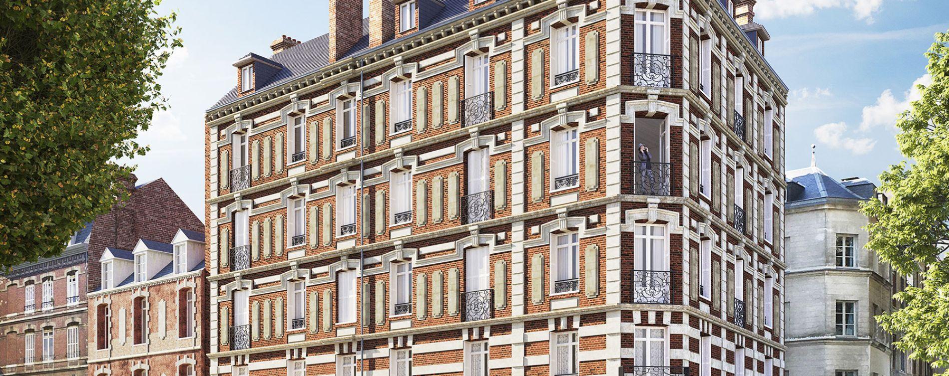 Rouen : programme immobilier à rénover « Saint-Vivien » en Loi Malraux