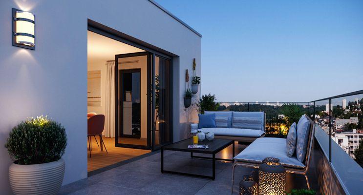 Rouen : programme immobilier neuf « Solarium » en Loi Pinel