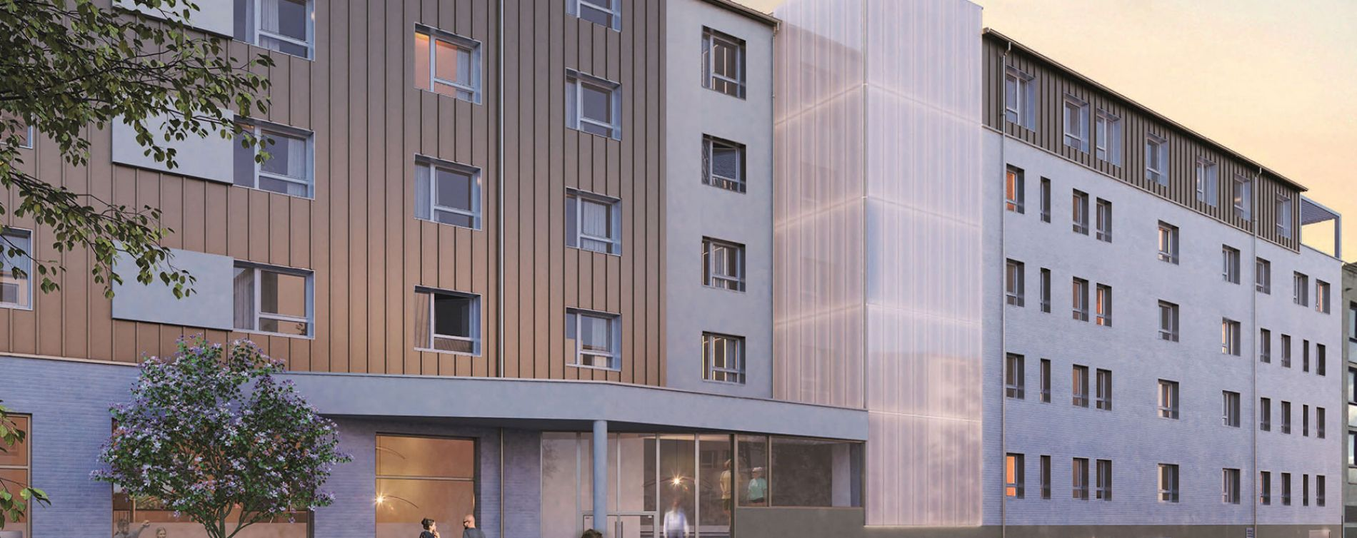 Rouen : programme immobilier neuve « Student Factory »