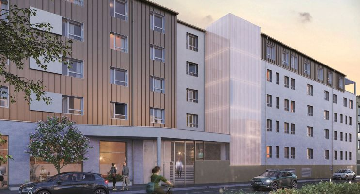 Rouen : programme immobilier neuf « Student Factory »