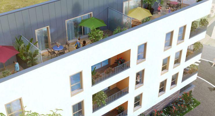 Photo n°2 du Résidence « Villa Garance » programme immobilier neuf en Loi Pinel à Rouen