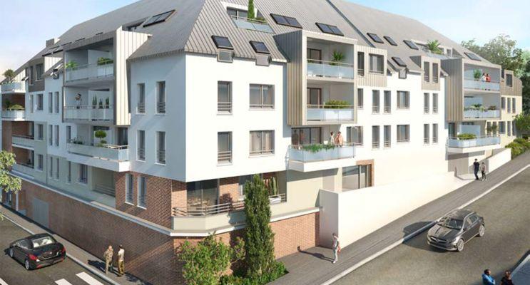 Photo n°1 du Résidence « Villa Les Nymphéas » programme immobilier neuf en Loi Pinel à Rouen