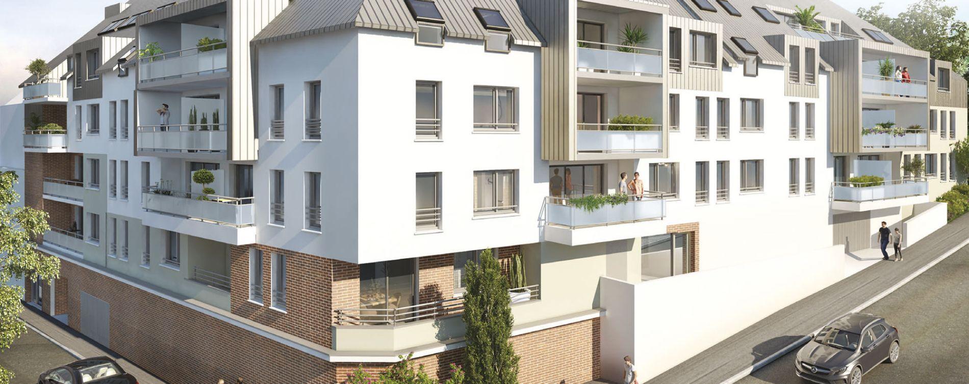 Rouen : programme immobilier neuve « Villa Les Nympheas » en Loi Pinel