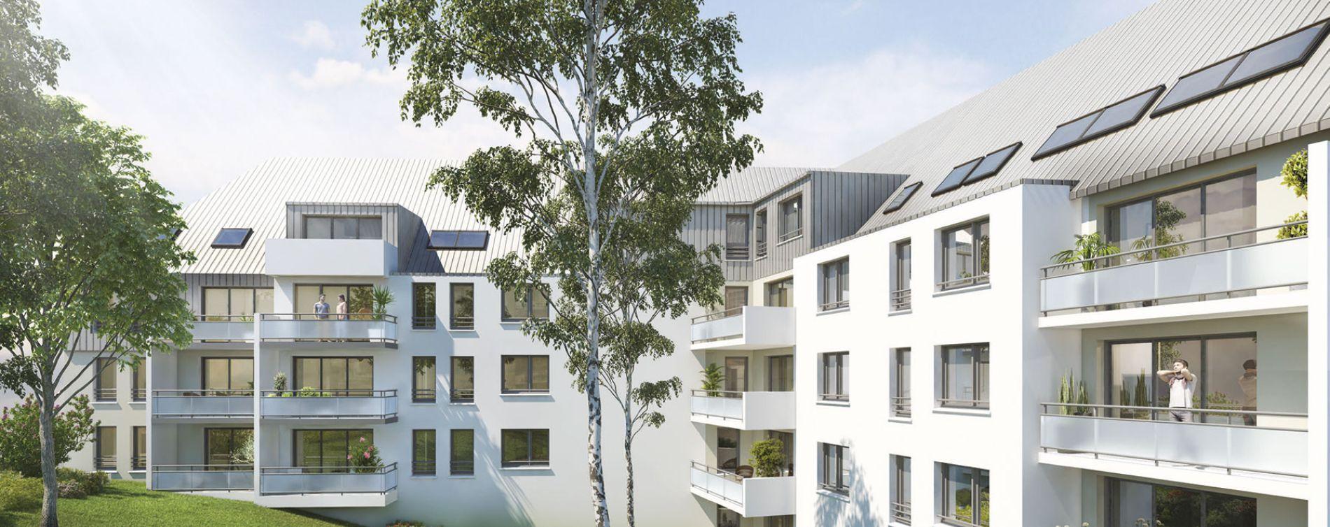Rouen : programme immobilier neuve « Villa Les Nympheas » en Loi Pinel (2)