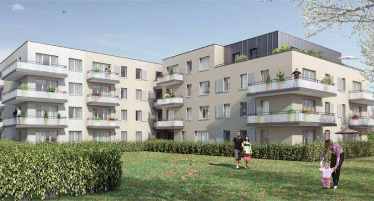 Photo du Résidence « Les Rives du Parc » programme immobilier neuf en Loi Pinel à Saint-Léger-du-Bourg-Denis