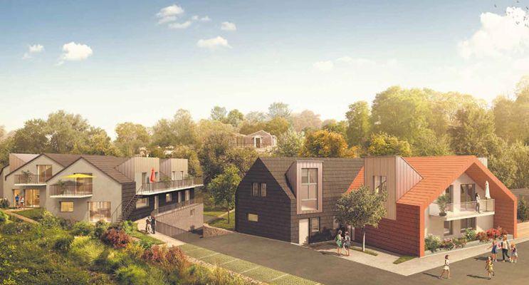 Résidence « Les Chalets » programme immobilier neuf en Loi Pinel à Sainte-Adresse n°1