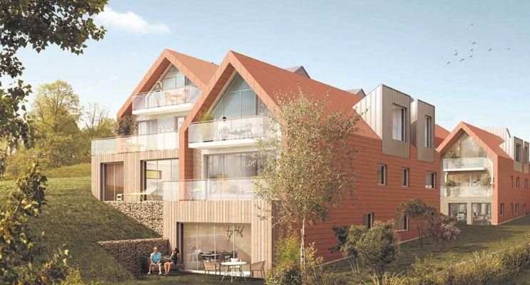 Résidence « Les Chalets » programme immobilier neuf en Loi Pinel à Sainte-Adresse n°2