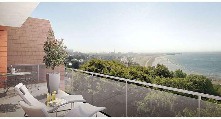 Résidence « Les Chalets » programme immobilier neuf en Loi Pinel à Sainte-Adresse n°3