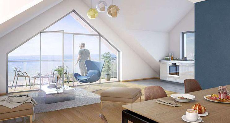 Résidence « Les Chalets » programme immobilier neuf en Loi Pinel à Sainte-Adresse n°5