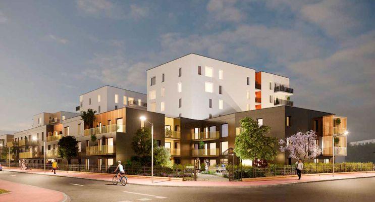 Photo du Résidence « IntenCité » programme immobilier neuf en Loi Pinel à Sotteville-lès-Rouen