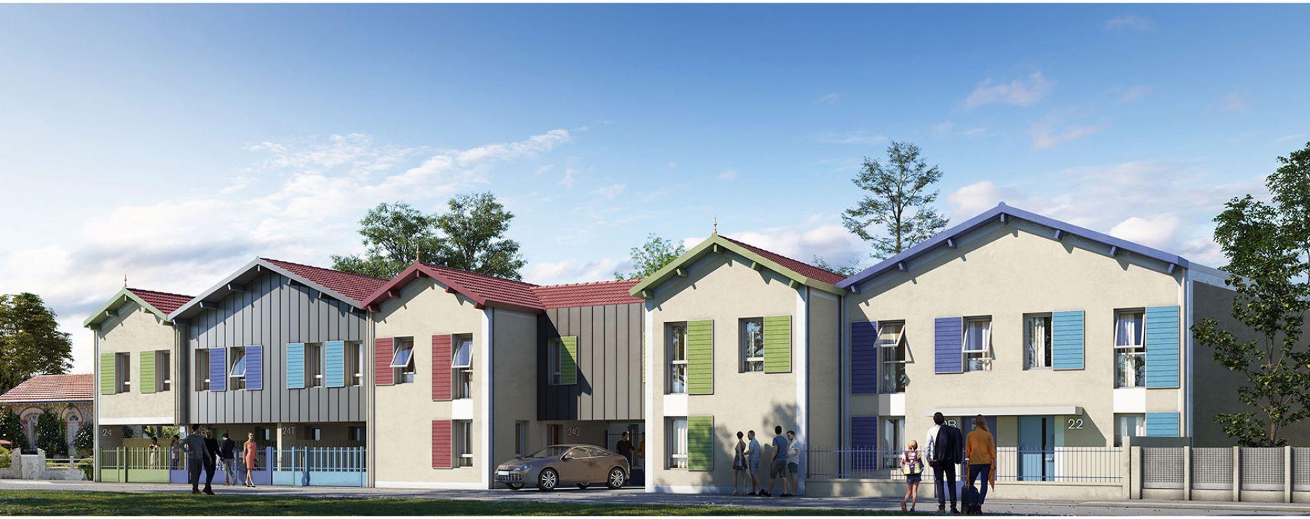 Châtelaillon-Plage : programme immobilier neuve « Hameau des Salines » (2)