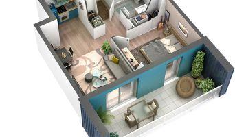 Châtelaillon-Plage programme immobilier neuve « Les Voiles d'Eugénie »  (3)