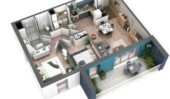 Châtelaillon-Plage programme immobilier neuve « Les Voiles d'Eugénie »  (4)
