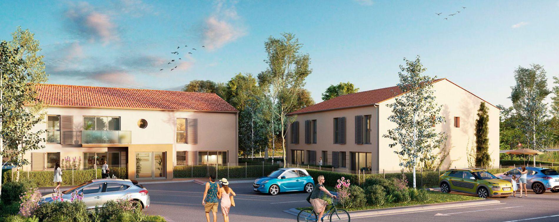 Dompierre-sur-Mer : programme immobilier neuve « Les Jardins de l'Océan »