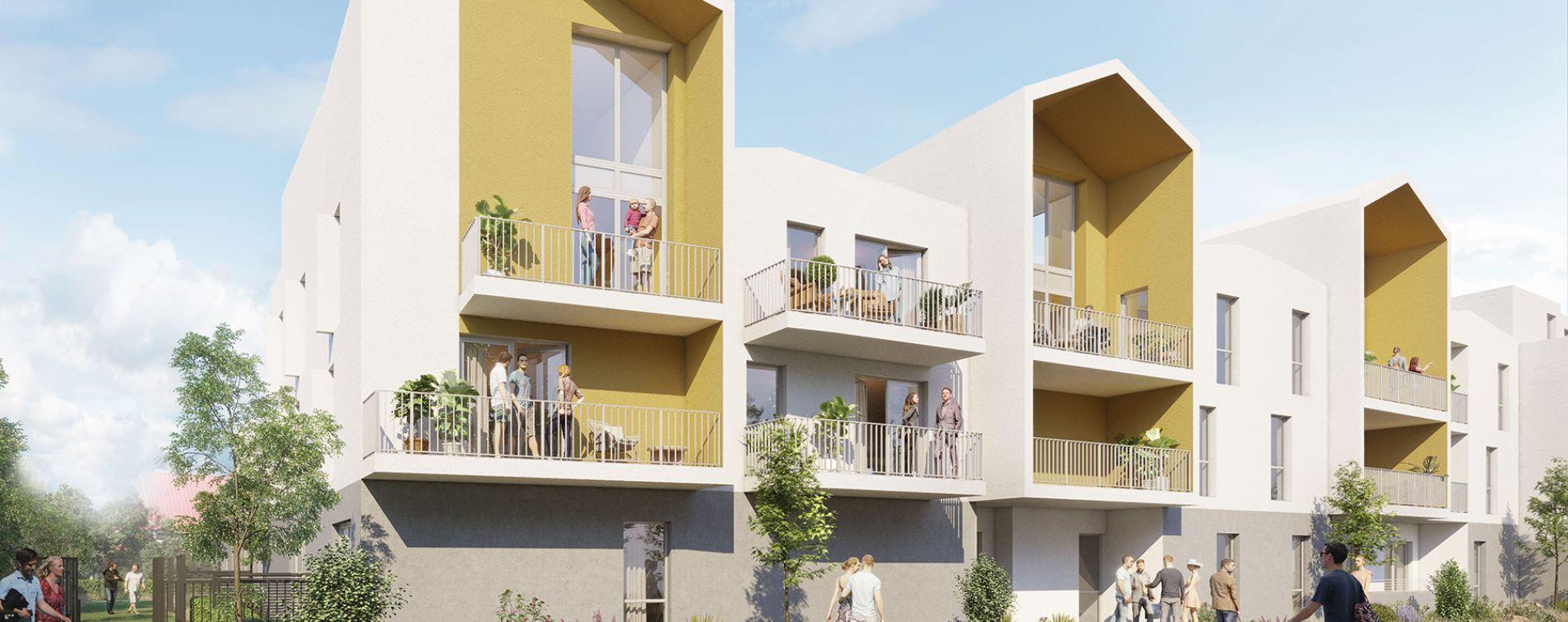 La Rochelle : programme immobilier neuve « Alcea » en Loi Pinel