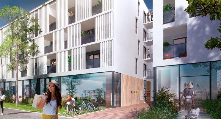 Photo du Résidence « Atelier 46 » programme immobilier neuf en Loi Pinel à La Rochelle